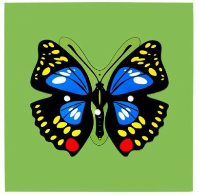 KB021 Insect Puzzle - Butterfly