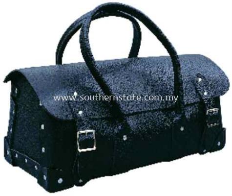 黑色皮革工具拎包