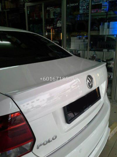 VOLKSWAGEN POLO SEDAN SPOILER