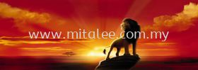 1-418_The_Lion_King_prn Komar Photomural Vol:14 Wallpaper (0.53m x 10m)