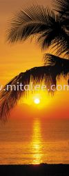 2-1255_Palmy_Beach_Sunrise_prn Komar Photomural Vol:14 Wallpaper (0.53m x 10m)