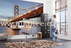 8-733_Bay_Bridge_Interieur_i Komar Photomural Vol:14 Wallpaper (0.53m x 10m)