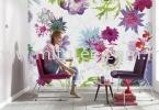 8-911_Fleur_de_Paris_Interieur_i Komar Photomural Vol:14 Wallpaper (0.53m x 10m)