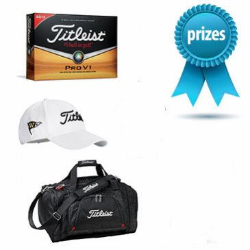 Titleist Corporate Prize Pack