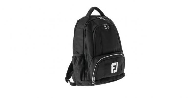 FootJoy Corporate FJ Backpack  Black Nylon