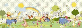 4-410 BEAUTIFUL DAY DISNEY PHOTOMURALS KOMAR WALLPAPER