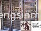 MSDD 018 Sliding Door Metal Work