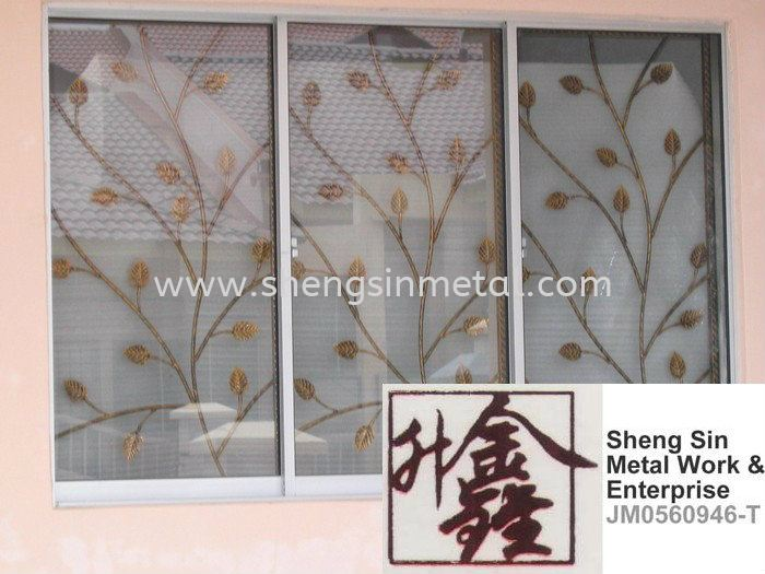WW 012 Window Wrought Iron Johor Bahru, JB, Skudai, 仟表 Design, Installation, Supply | Sheng Sin Metal Work & Enterprise