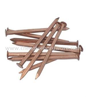 Square Copper Nails