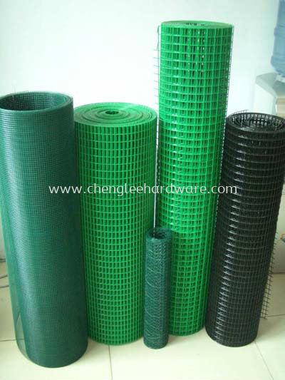PVC-Coated Wire Netting