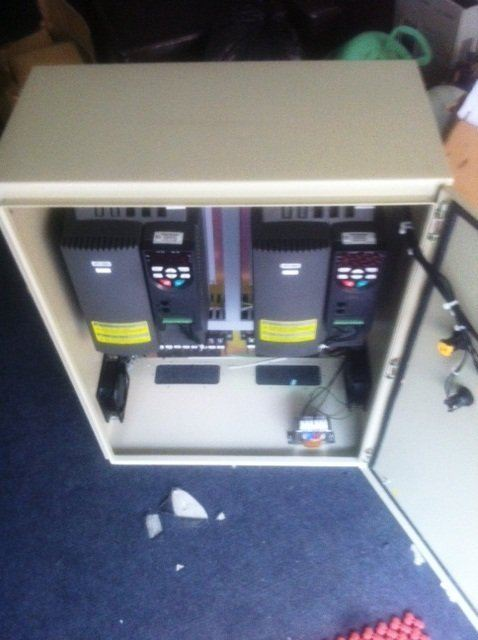 BLOWER FAN INVERTER CONTROL PANEL PROJECTS -CITY SQUARE MALAYSIA