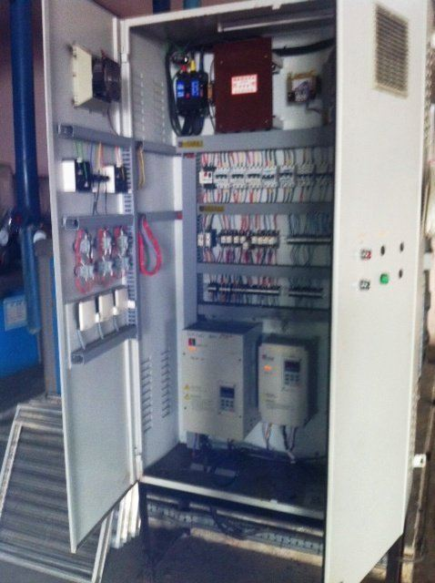 AHU BLOWER FAN CONTROL PANEL -FOOD INDUSRTY