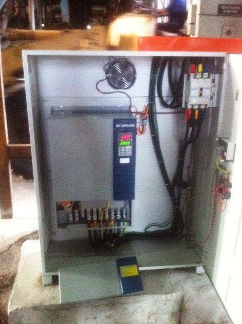 BLOWER FAN INVERTER CONTROL PANEL PROJECTS - PALM OIL INDUSTRY