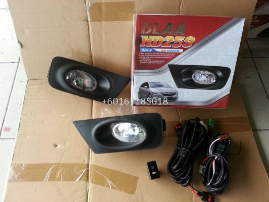 HONDA STREAM FOGLIGHT OEM WITH SWITCHES