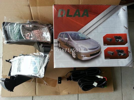TOYOTA WISH FOGLIGHT