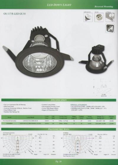 OS 117/R-LED GU10
