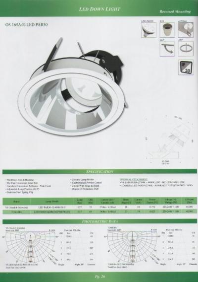 OS 165A/R-LED PAR30