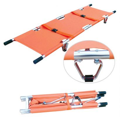 Aluminum Alloy Foldaway Stretcher (2 fold)   Model YXH-1F1