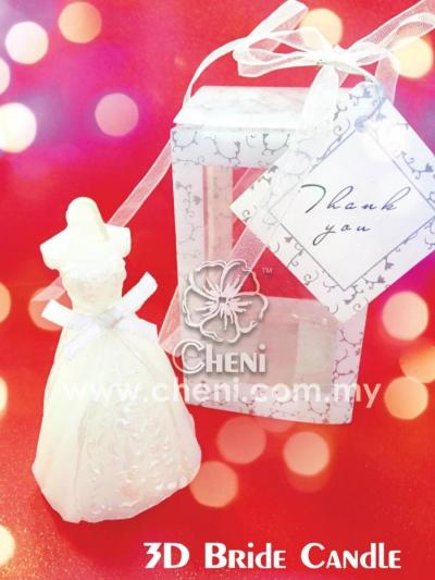 3D Bride Candle