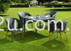 PK-C166-TABLE  PK-A009-CHAIR Out Door Set Cafe & Dining Furniture