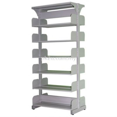 Library Double Sided Rack w/o Steel Sided Panel