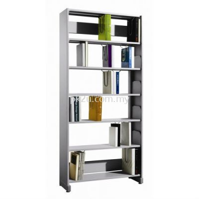 Library Single Sided Rack with Steel Sided Panel