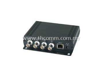4Ch Passive IP Extender over Coaxial IP015