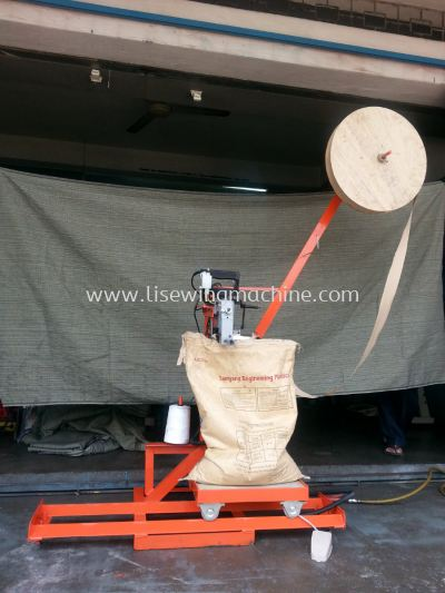 NEWLONG NP-7 Bag Closer Machine Equipped Taping Attachment