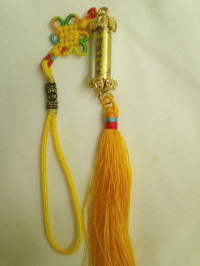 楞嚴神咒管吊饰