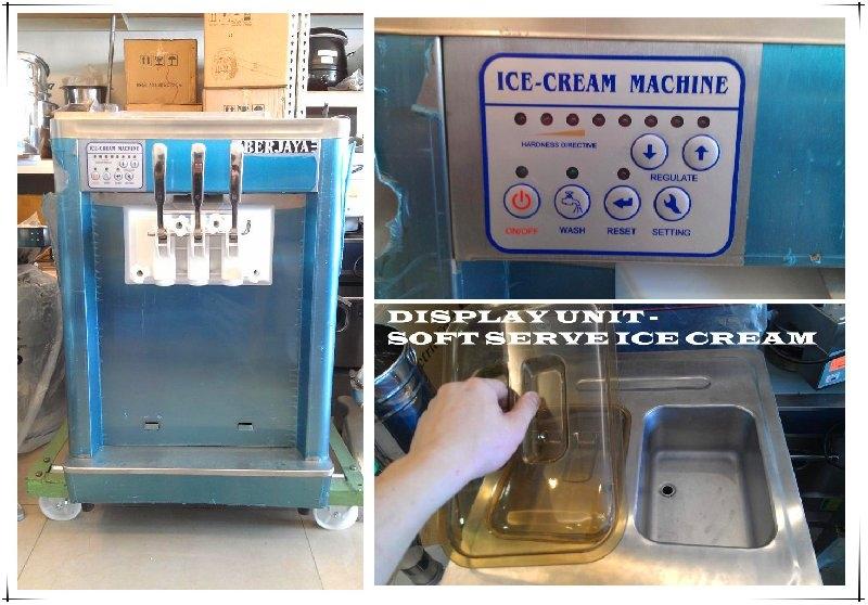 DISPLAY UNIT - SOFT SERVE ICE CREAM MACHINE FOR SALE