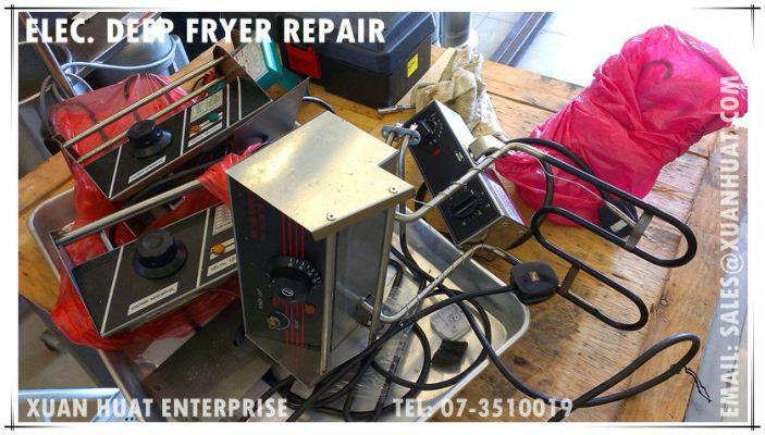 Service & Repair of Electric Deep Fryer | Pembaiki Elektrik Deep Fryer