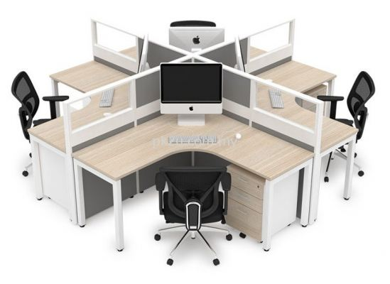 Cubicle Workstation - X Solution