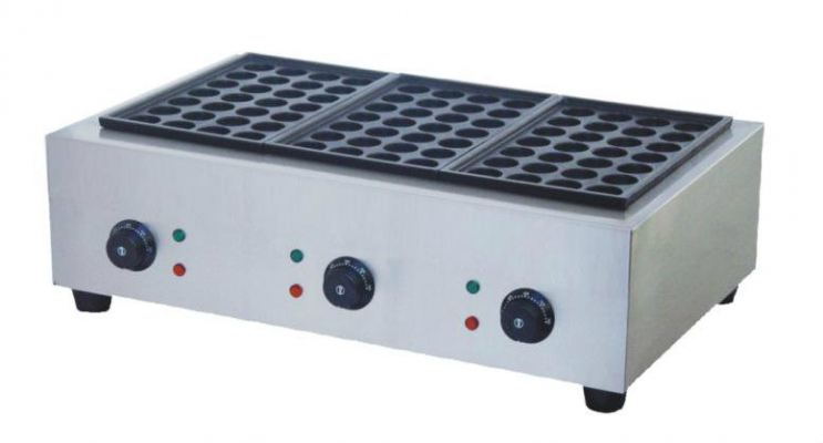 Fresco Takoyaki Electric Machine FR-3, 3 plate 28 Hole