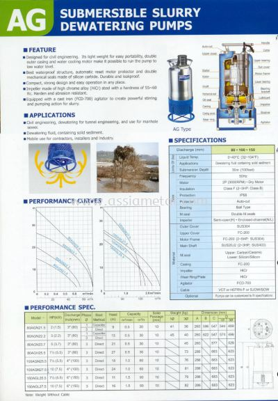 AG Dewatering Pumps