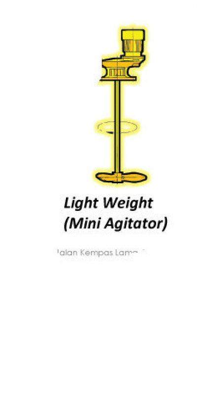 Light Weight (Mini Agitator)