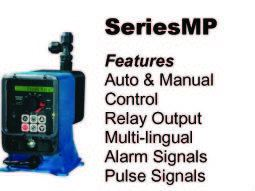 The Industry Standard for Metering Pumps