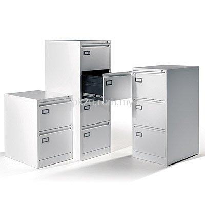 Goose Neck Handle Vertical Filing Cabinet