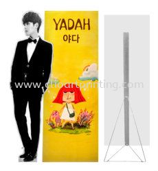 human-standee-a-stand Banner / Bunting Printing