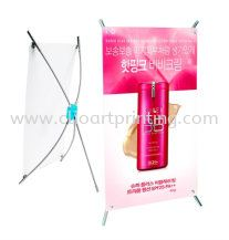 mini-table-x-stand Banner / Bunting Printing