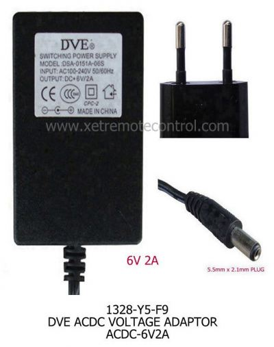 6V 2A POWER ADAPTER-Switching Power Type