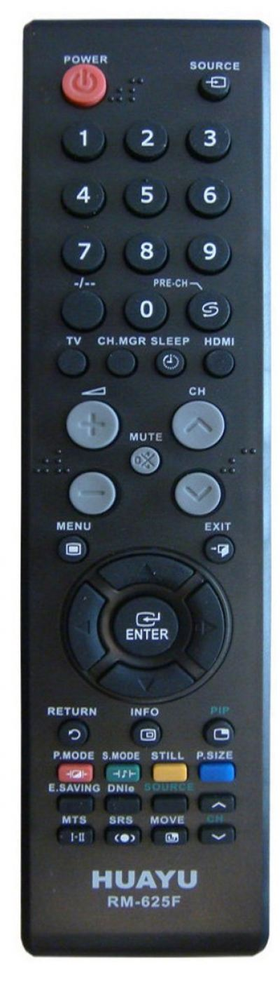 RM-625F SAMSUNG LCD/LED TV REMOTE CONTROL