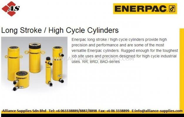 ENERPAC Long Stroke/ High Cycle/ Double Acting Cylinders