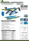 Alignment Scissor Lift - GQ350Z Afield Godzilla Scissors Lift