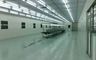 GLASS 1000 CLEAN ROOM