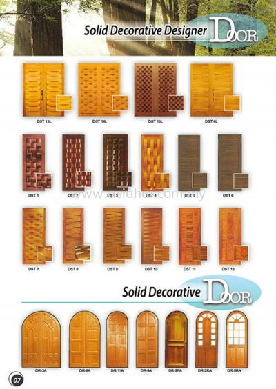 Solid Decorative Door 7