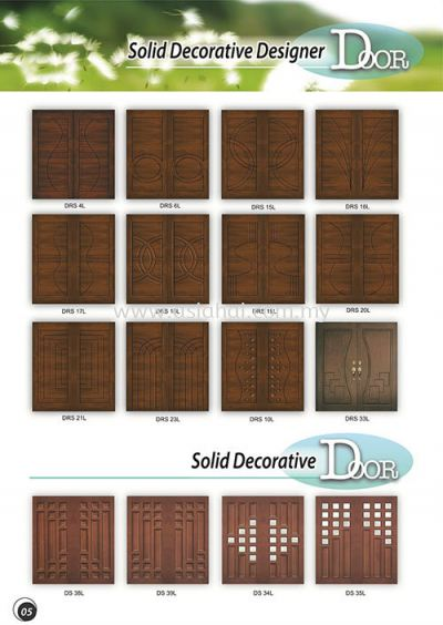 Solid Decorative Door 5