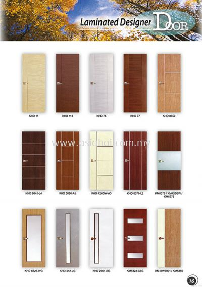 Laminated Designer Door