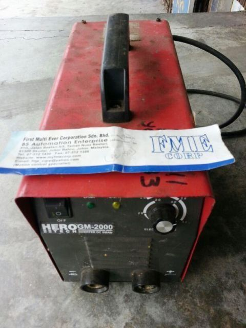 HERO TECH INVERTER WELDING AND CUTTING MACHINE REPAIR MALAYSIA INDONESIA