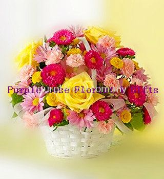 Flowers Basket Set 17(SGD40)