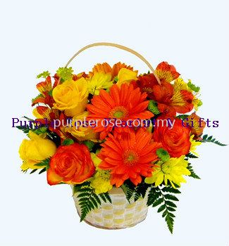 Flowers Basket Set 27(SGD48)